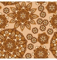 seamless background with abstract ethnic pattern