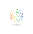 Sphere abstract isolated vector image