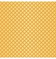 Waffle background vector image