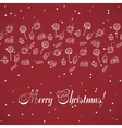 Christmas Sweets Seamless Pattern vector image