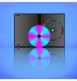 DVD box vector image