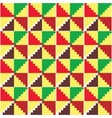 african kente cloth s seamless pattern vector image vector image