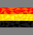 germany flag abstract vector image