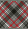gray check plaid pixel seamless pattern vector image vector image