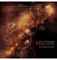 sepia tone bokeh background vector image vector image