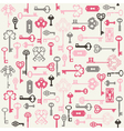 Antique keys background vector | Price: 1 Credit (USD $1)