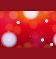 background template with red and blur circles vector image