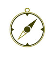 compass icon isolated vector image