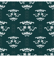 damask hand drawn seamless pattern vector image