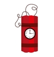 dynamite comic isolated icon vector image vector image