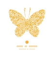 golden lace roses butterfly silhouette pattern vector image vector image
