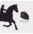 Horse ridding design equipment icon isolated vector image