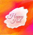 indian happy holi colorful background vector image vector image