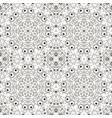 mandala zentangl seamless ornament relax coloring vector image