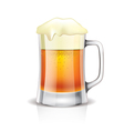 object beer mug vector image vector image
