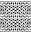 seamless pattern with dots and triangles vector image vector image