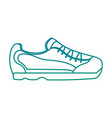 sport shoe fashion accessory icon vector image vector image