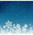 Winter xmas new year background with snowflakes