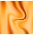 Orange glossy silk abstract background vector image