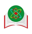 book school with education icon vector image vector image
