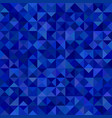 geometrical abstract triangle mosaic pattern vector image vector image