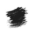 grunge brush stroke design element vector image