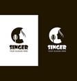 singer 13 vector image vector image