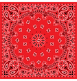 bandana colorful vector image vector image