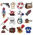 Comics Decorative Elements Set vector image vector image