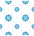 floral pattern Variation on Gzhel theme Simple vector image vector image
