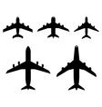 planes vector image vector image