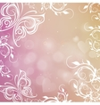 romantic shiny blurred background with vector image vector image