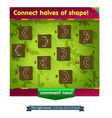 shape game for children vector image vector image