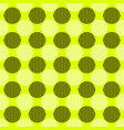 simple seamless circle pattern design background vector image vector image