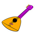 balalaika icon cartoon vector image vector image