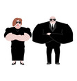 bodyguard marrieds family husband and wife in vector image vector image