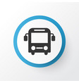 bus icon symbol premium quality isolated autobus vector image