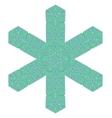 Creative Ornamental Green Pattern vector image vector image
