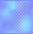 fish skin seamless pattern mermaid scale vector image vector image
