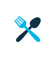 food icon colored symbol premium quality isolated vector image
