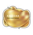 Golden trendy concept