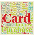 How To Find A Low Apr Credit Card text background vector image vector image