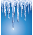 icicles vector image vector image