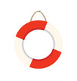 live buoy icon on white background for graphic and vector image vector image