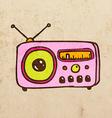 Radio Cartoon vector image