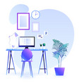 workplace background trends vector image