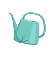 broken watering can recycling garbage concept vector image vector image