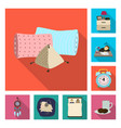 dreams and night icon vector image