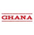Ghana Watermark Stamp vector image vector image