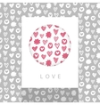 Love theme design vector image